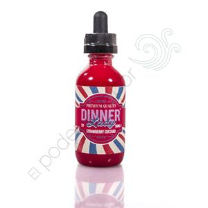 Strawberry Custard by Dinner Lady TPD 50ml
