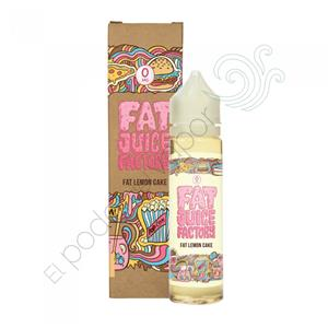 Fat Juice Factory Lemon Cake TPD 50ml