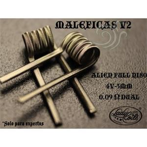 Maleficas v2 Coil by LadyCoils 2 unidades